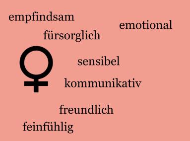 Geschlechterstereotype-Frau